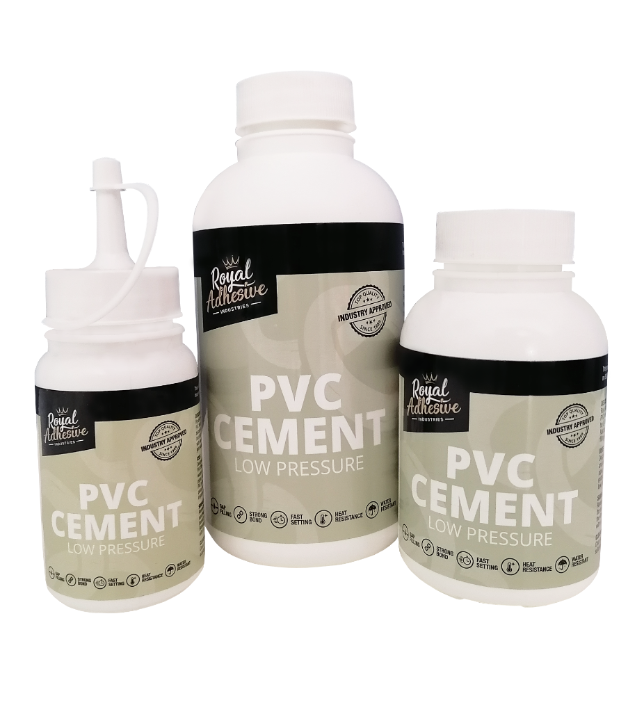 Low pressure PVC Cement